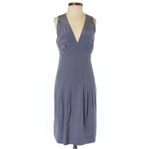 100% silk banana republic dress